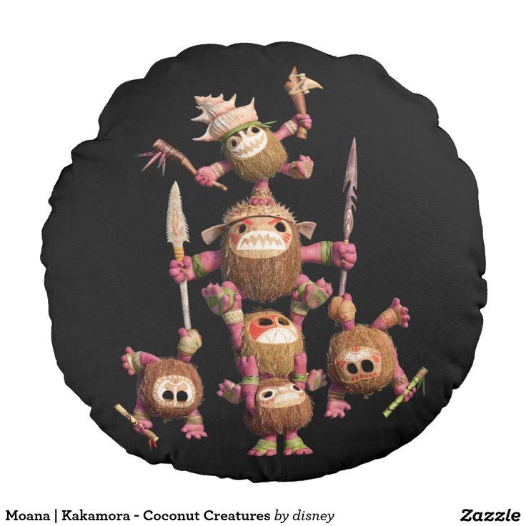 Moana | Kakamora - Coconut Creatures Round Pillow