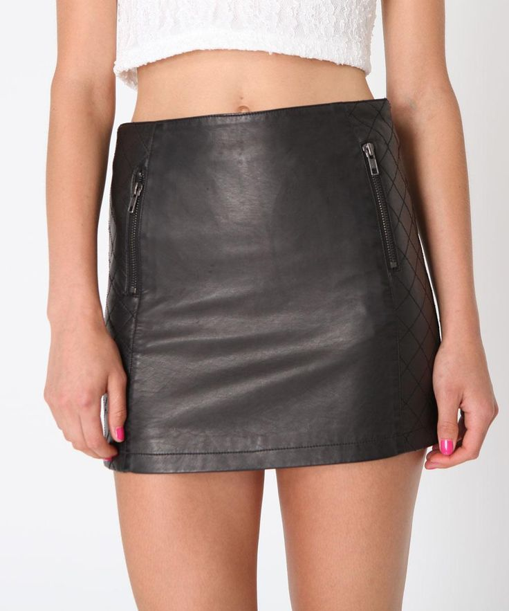 QUILTED PANEL SKIRT | Skirts | Clothing | Womens | General Pants Online