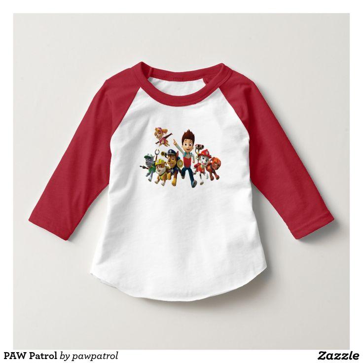PAW Patrol. Puppy, dog lover. Baby, bebé. Producto disponible en tienda Zazzle. Vestuario, moda. Product available in Zazzle store. Fashion wardrobe. Regalos, Gifts. #camiseta #tshirt