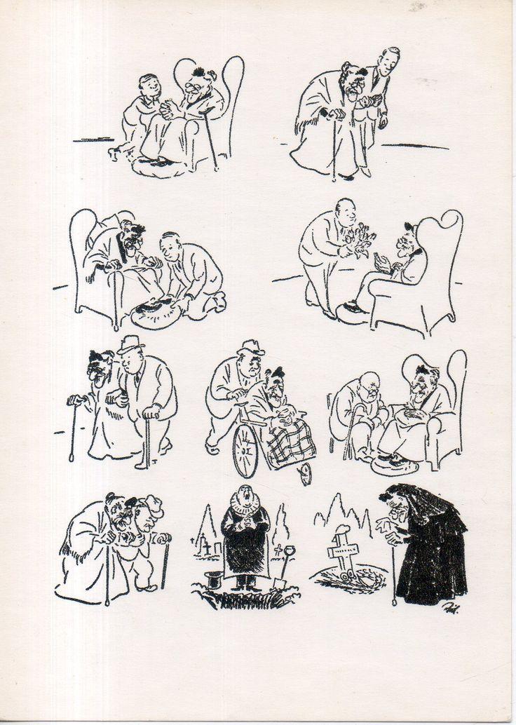 Херлуф Бидструп. Старая история.1964