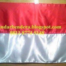 Bendera Merah Putih Satin