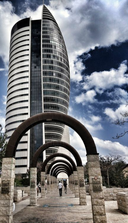 Sail Tower in Haifa, Israel