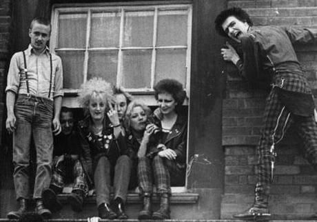"""""""Some punks were tolerant leftists, while others wore swastikas on their leather jackets; some were art school dilettantes, while others came from the working class."""""""