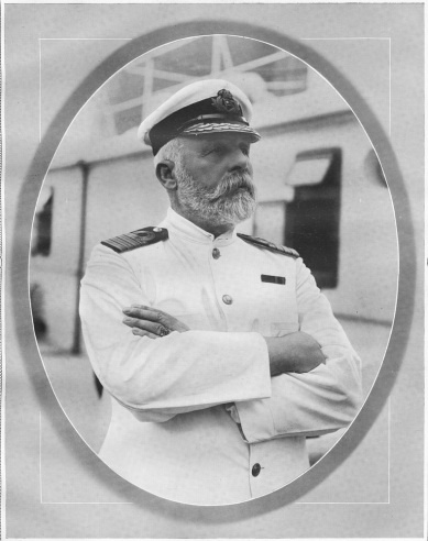 Titanic: One Hundred Years Later  Captain of the RMS Titanic, Commander Edward J. Smith, who went down with the ship when it sank on April 15th, 1912.