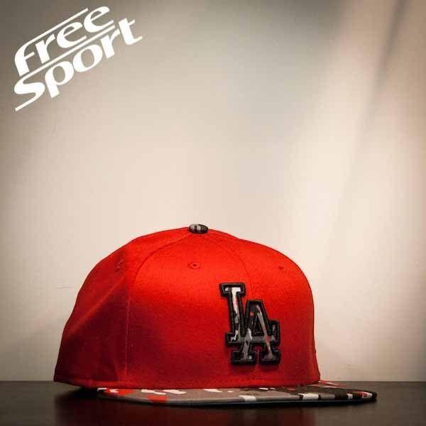 New Era LA Dodgers Rosso visiera Camou http://freesportstyle.com/new-era/78-new-era-la-dodgers-rosso-visiera-camou.html