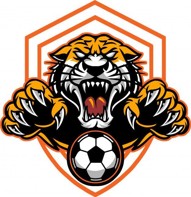 Tiger Football Nature Logo Design Football Logo Design Art Logo