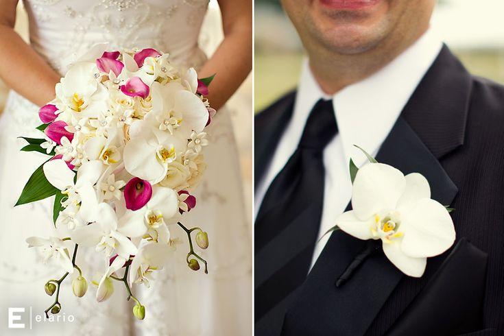orchid bouquet, orchid wedding bouquet