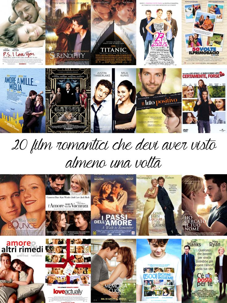 film romantici | film d'amore | idee per san valentino