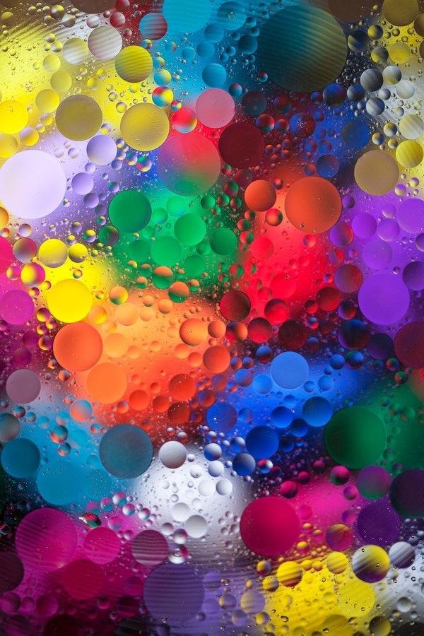 Color Explosion by Margaret Morgan