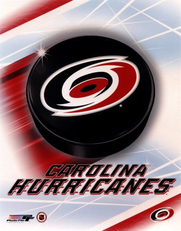 Carolina Hurricanes!  I had the privilege of seeing them play in Greensboro, North Carolina until the new arena was completed in Raleigh.  I went to as many games as possible and always had a blast!