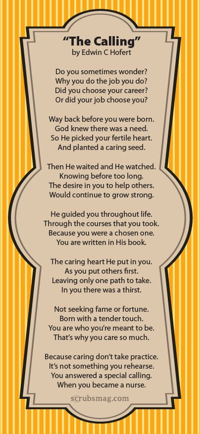 We love this poem written by a Scrubs reader! | Scrubs – The Leading Lifestyle Nursing Magazine Featuring Inspirational and Informational Nursing Articles