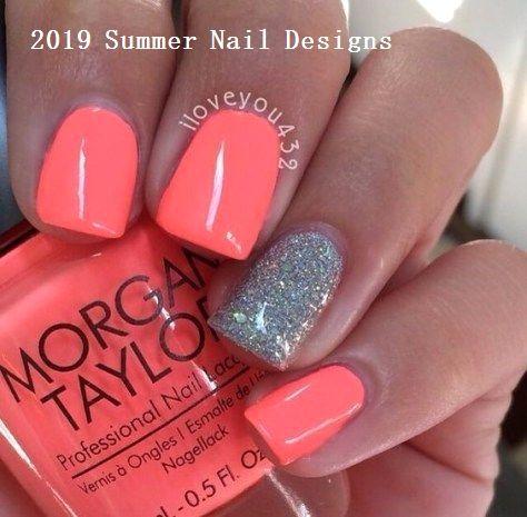 33 Cute Summer Nail Design Ideas 2019 #nailideas