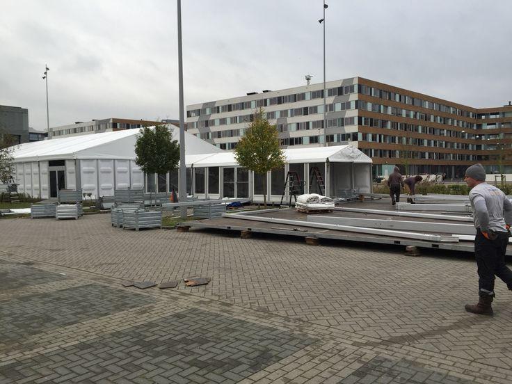 Partytent voor openingsfeest, bedrijfsopening, bedrijfsfeest of corporate evenement. Advance Events Rotterdam. http://www.advance-events.nl