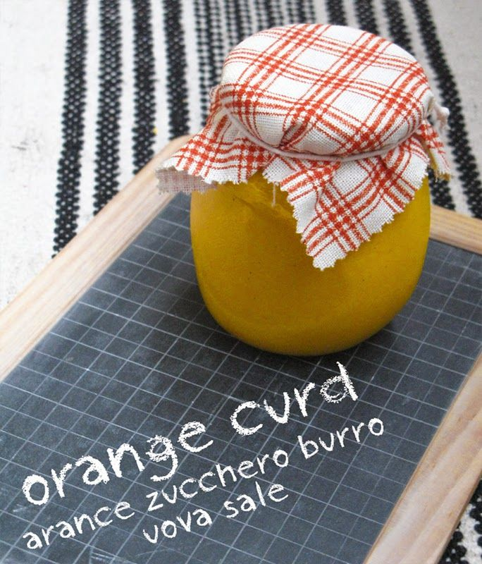 Lemon curd ed Orange curd