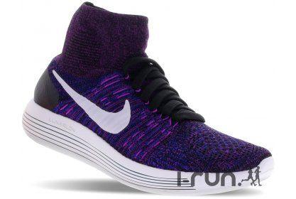 Nike LunarEpic Flyknit W pas cher - Chaussures running femme running Route & chemin en promo