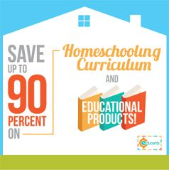 The first flash-deal site that offers homeschooling curriculum & educational products at 25-90% off retail! www.Educents.com #Educents