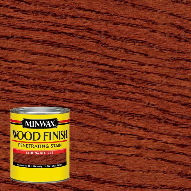 Minwax 1 qt. Wood Finish Sedona Red Oil-Based Interior Stain