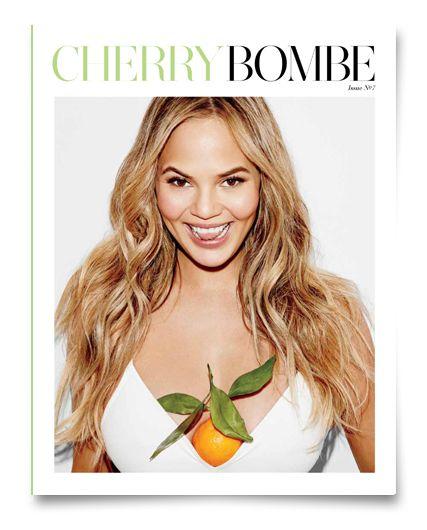 Cover Girl Chrissy Teigen for Issue No. 7