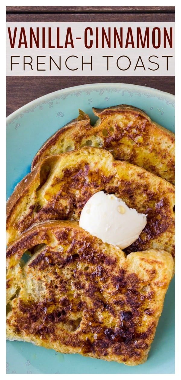 Vanilla Cinnamon French Toast is everything you love about the classic breakfast recipe. but with a hint of vanilla in each bite! It's an easy recipe ...