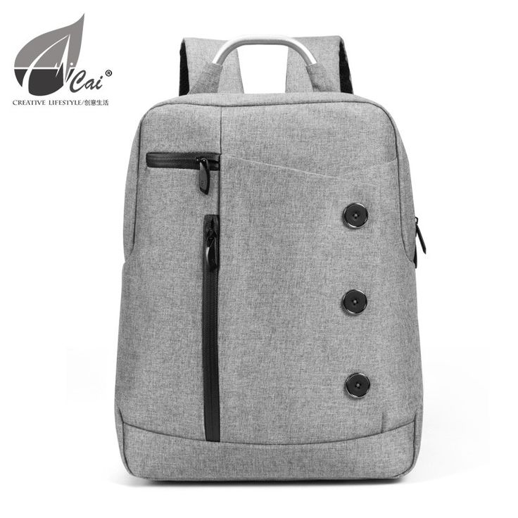 Buy high quality and top design MacBook laptop commuter backpacks from Cai®.   Double main compartments ensure plenty room for the daily essentials.