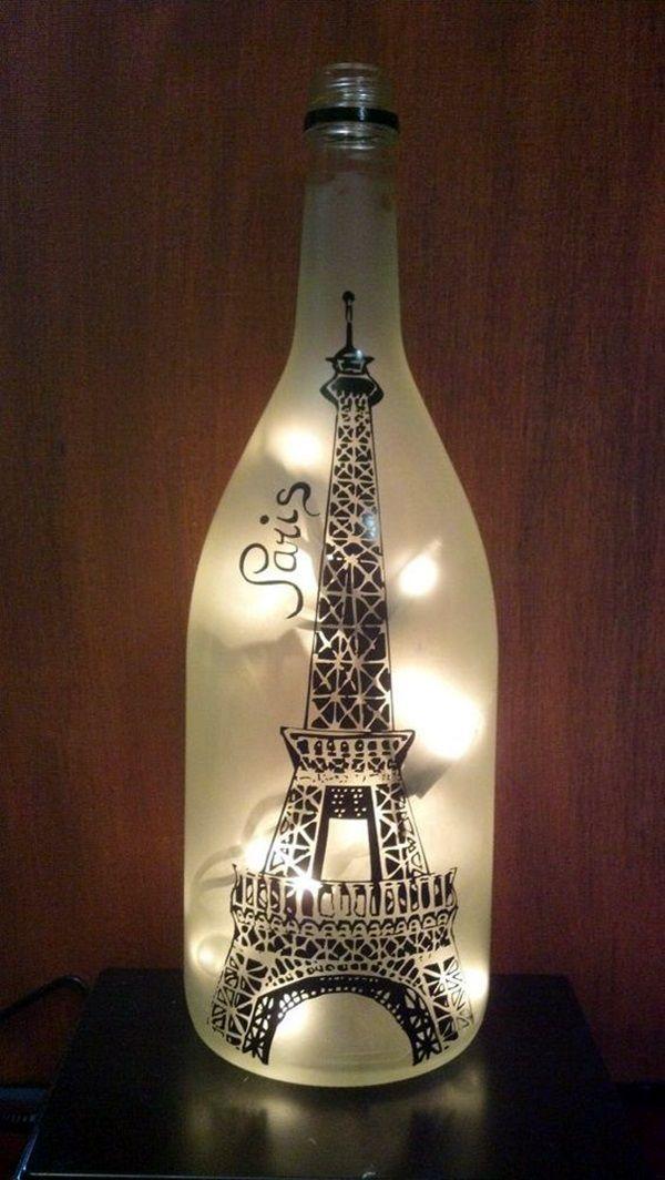 60 Cool Wine Bottles Craft Ideas 2957