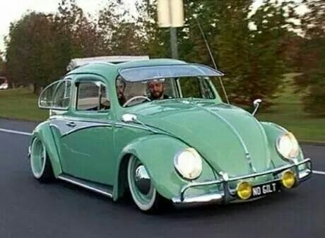 Hey! He's in the exact beetle I want to buy!