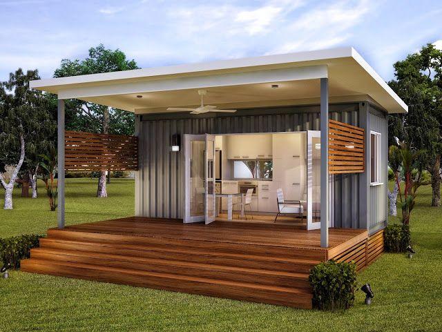 Granny Flats Studio - Monaco Prefab Container Home