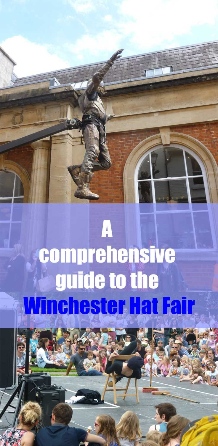 A comprehensive guide to the Winchester Hat Fair 2017. What's on, when, where, what to eat and