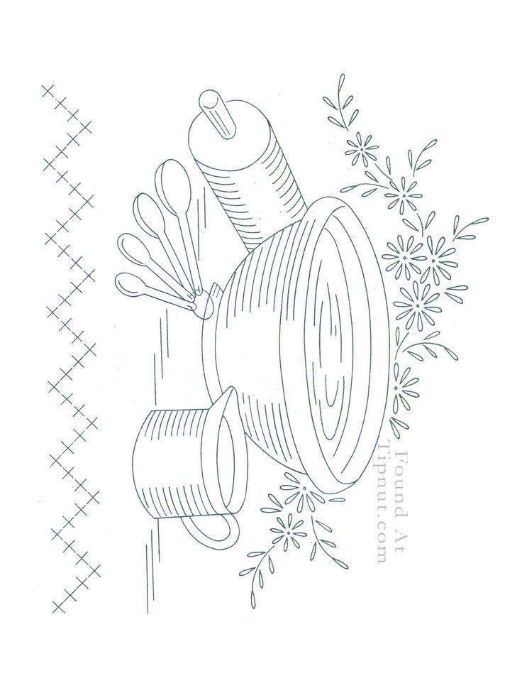 Mixing Bowl & Gadgets pattern