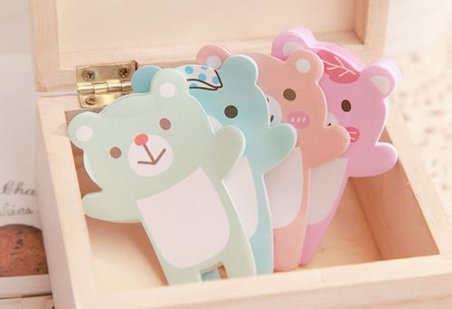 Bear post it notesKawaii Things, Cute Kawaii, Kawaii Stationary, Kawaii ᗨ, Kawaii Ü, Kawaii Heavens, Bears Notepad, Pastel Teddy, Bears Post