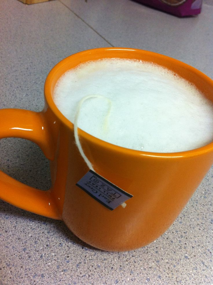 How to Make a London Fog. Delicious! Only change I made was added 1 tsp. sugar.  (I used hazelnut syrup delish)