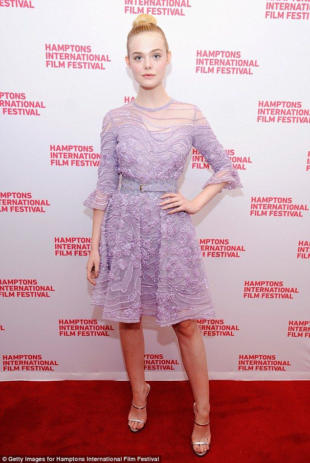 No shrinking violet! Elle Fanning once more was showing off her sartorial expertise as she attended a screening of her new film, 20th Century Women, at the Hamptons International Film Festival on Sunday