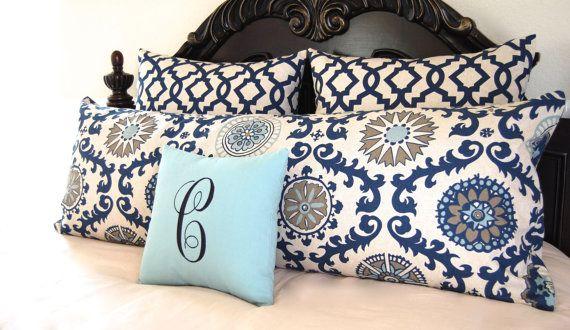 Shams Bedding Ensemble Full Queen Body Pillow by FestiveHomeDecor