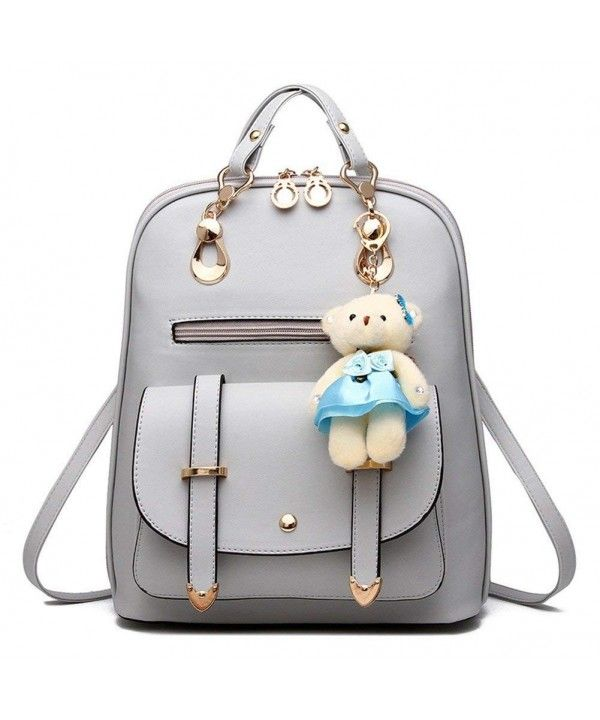83abb68c5a03 Women s Summer Cute Korean Leather Student Bag Backpack Shoulder Bag ...