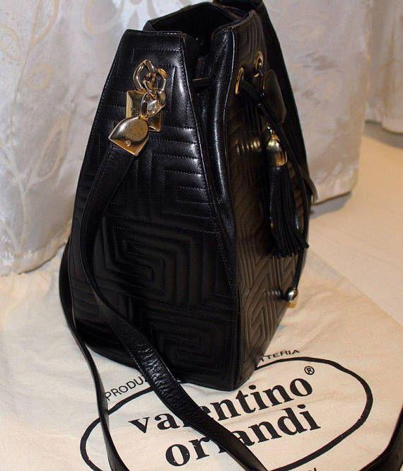 c80504be84045 men's bag Dolce Gabbana / vintage / leather / DG   Glamour   Golf ...