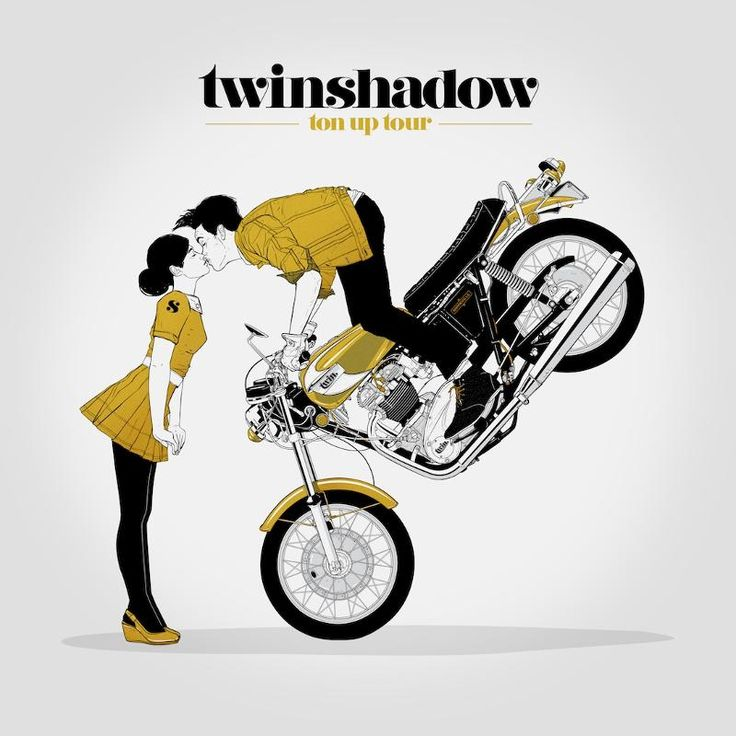 """Twin Shadow """"Ton Up Tour"""" and sophomore LP """"Confess"""" out July 10th!"""