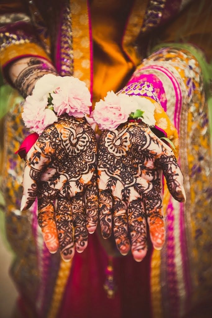 Mehndi Ceremony : Best real indian weddings images on pinterest