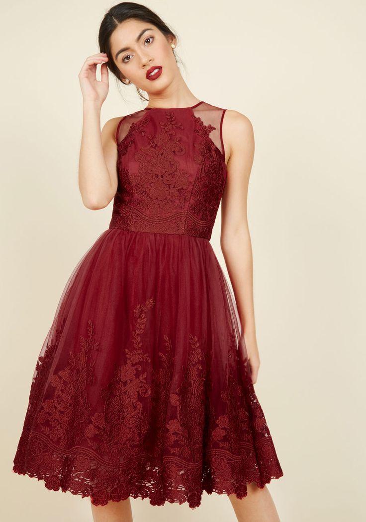 Radiant Reunion Lace Dress, #ModCloth