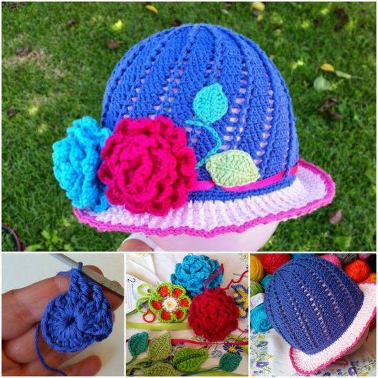 476 besten Sombreros Bilder auf Pinterest | Hut häkeln, Beanie mütze ...