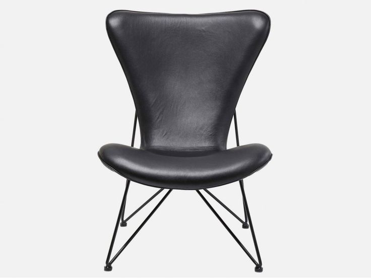 Fotel Miami czarny ekoskóra — Fotele Kare Design — sfmeble.pl