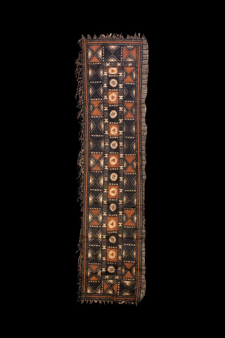 Old and Fine Fijian Tapa Cloth, ex. Peter Fraser, Polynesian Art, Oceanic Art