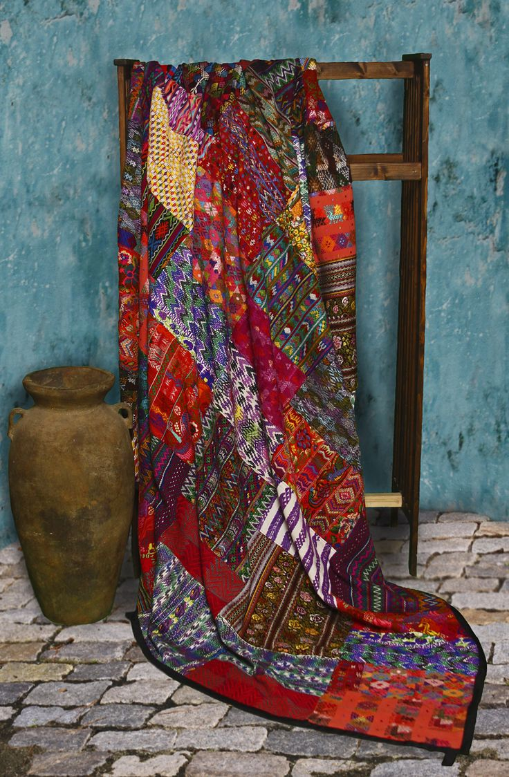 #fashiontakesaction handmade quilt, fair trade holiday gift (Fair Trade Quilts & Crafts)