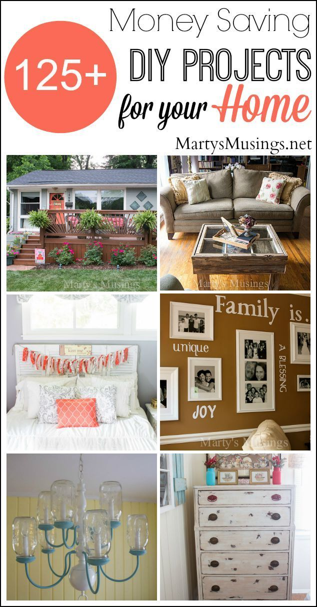 Over 125 Diy Projects That Will Inspire You To Step Outside Your Comfort Zone And Find Your Own Personal Style While Tryin Home Diy Diy Projects Home Projects