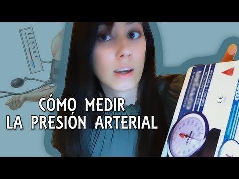 Cómo medir la presión arterial (tensión arterial)