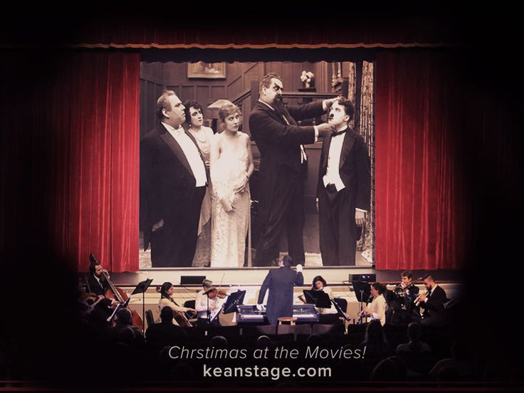 Peacherine Ragtime Society Orchestra - Silent Holiday films with a live orchestra.