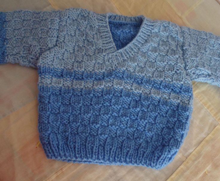 blusas de tricô infantil masculinas