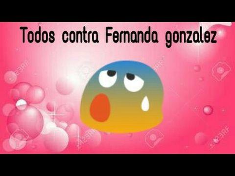 Contra Fernanda gonzalez