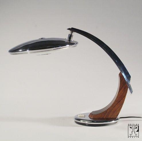 Futuristische Schreibtischlampe Von Der Firma Fase   ZEITLOS U2013 BERLIN