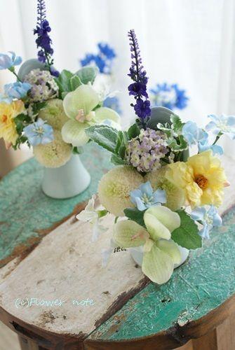 【今日の贈花】お問合せ多数!夏用の供花 Flower note の 花日記 (横浜・上大岡 アレンジメント教室)