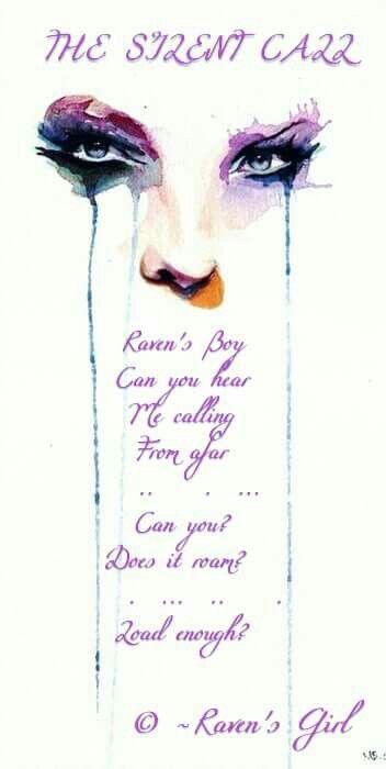 poem in Raven Story.
